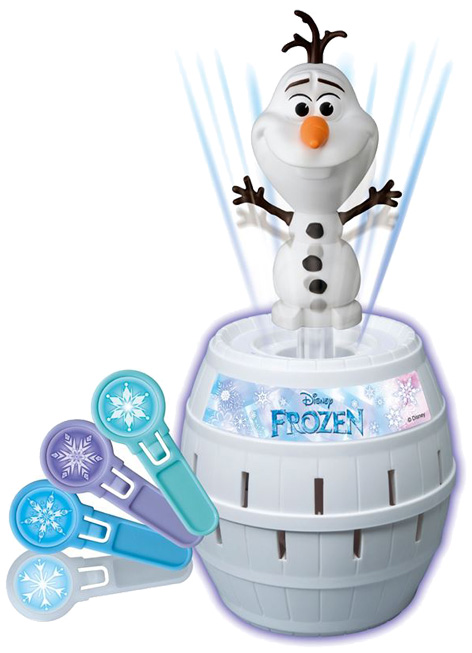 Frozen Pop-Up Olaf Game