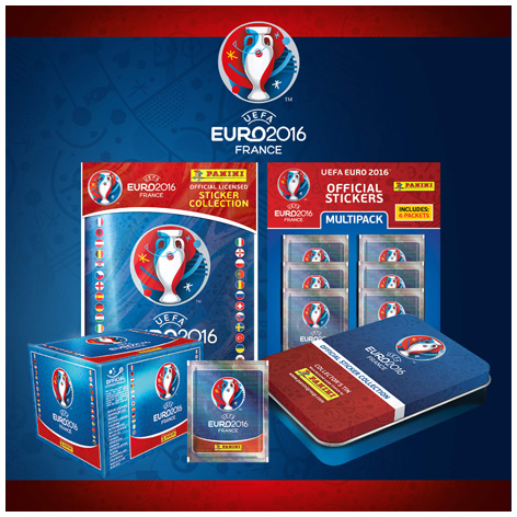 The full Euro 2016 Sticker Collection