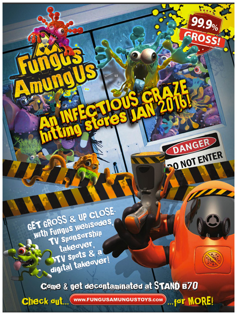 Fungus Amungus trade advert