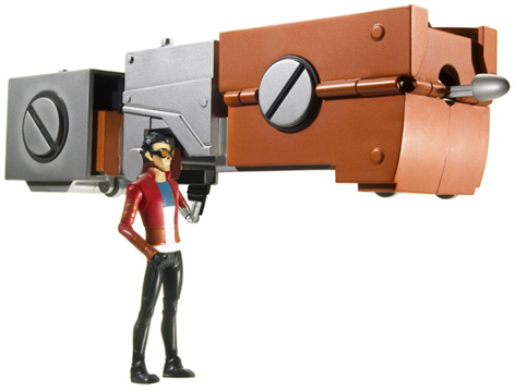 Just like the Generator Rex Air Attack Boogie Pack, this playset is not only