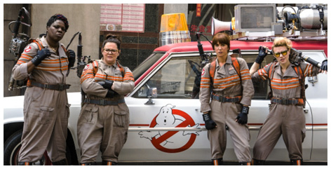 New Ghostbusters cast
