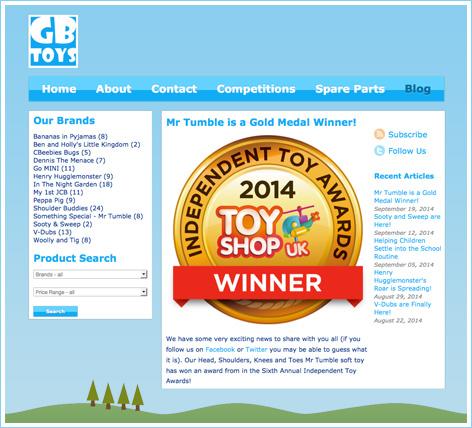 GB Toys Blog