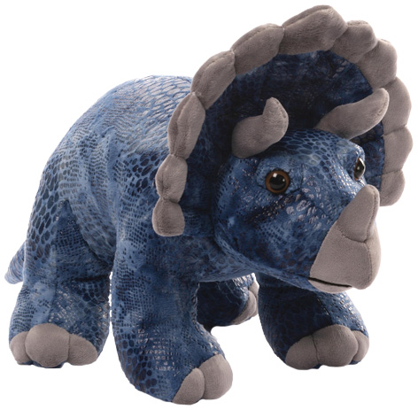 Deisyl Triceratops toy from Gund