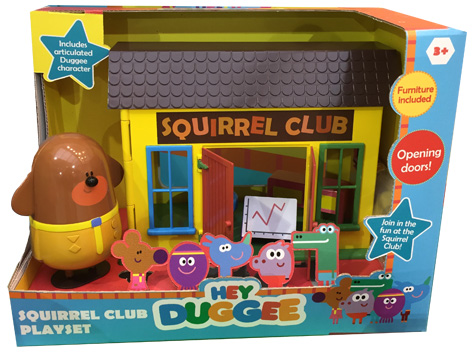 Hey Duggee Squireel Club Playset