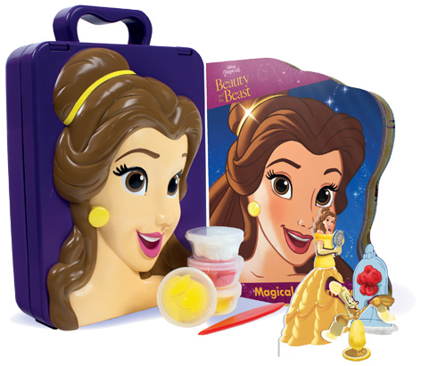 Disney Princess Beauty and the Beast Read & Make Play Case