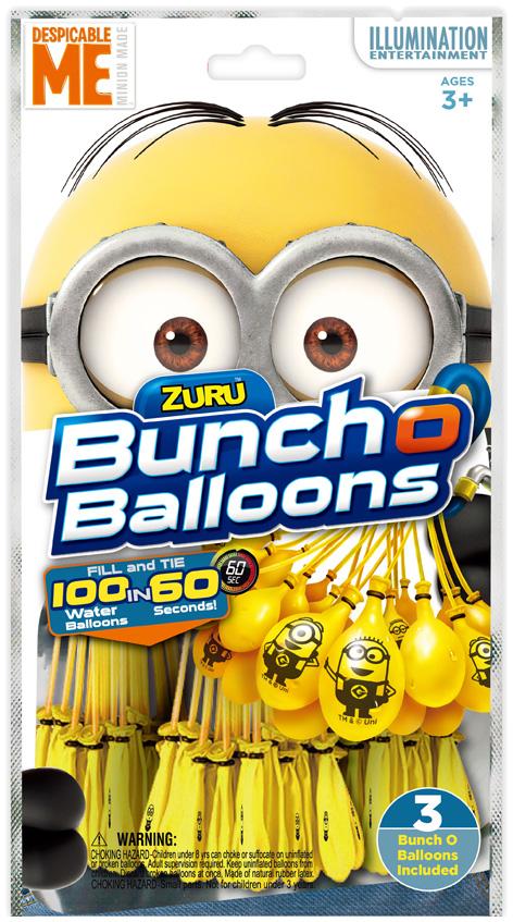 Bunch O Balloons Minions