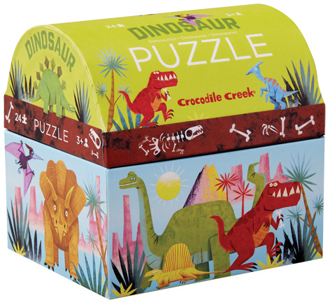Crocodile Creek Dinosaur Jigsaws
