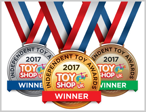 Independent Toy Awards Medal Montage
