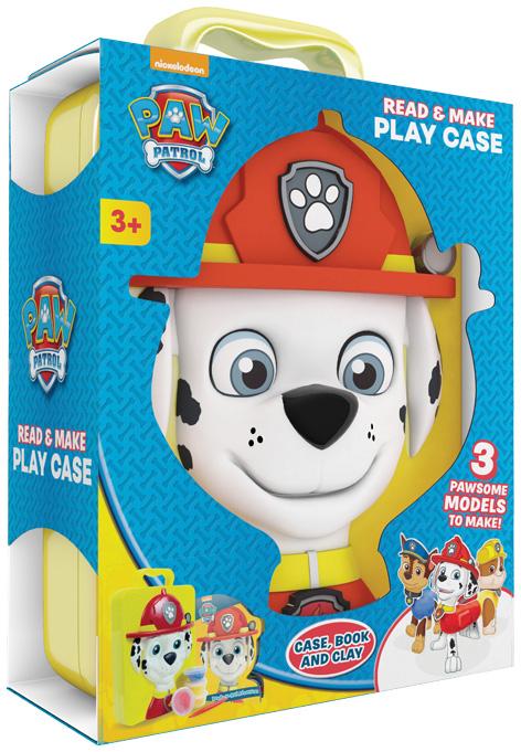 Nickelodeon PAW Patrol Read & Make Play Case