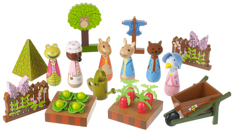 Peter Rabbit Playset