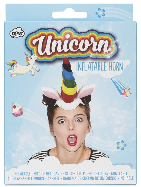 Unicorn Inflatable Headband
