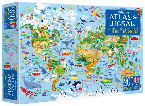 The World - Atlas and Jigsaw