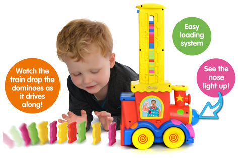 Mr Tumble's Domino Train