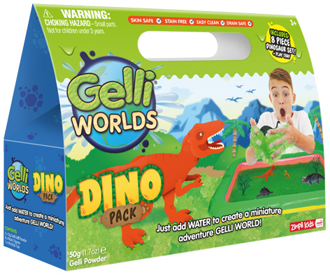 Gelli World Dino Pack