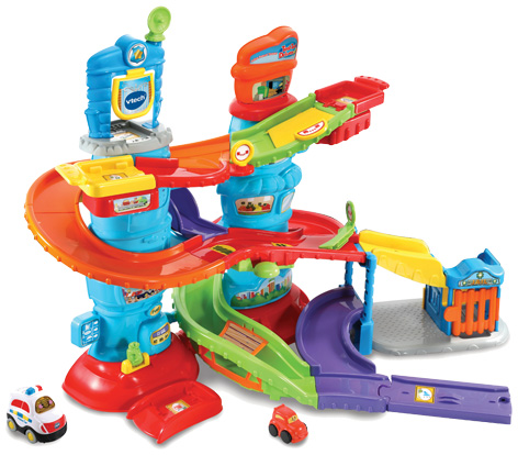 Toot Toot Drivers Police Patrol Tower
