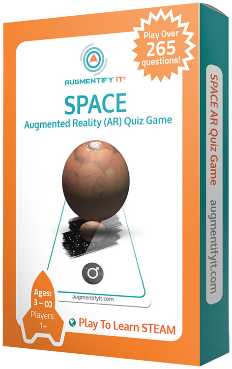 AugmentifyIt® SPACE Augmented Reality (AR) Quiz Game