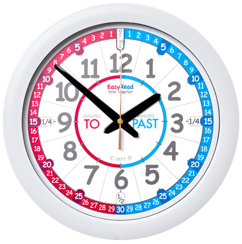 EasyRead Time Teacher Children's Wall Clock