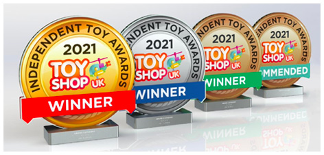 2021 Independent Toy Award Trophies