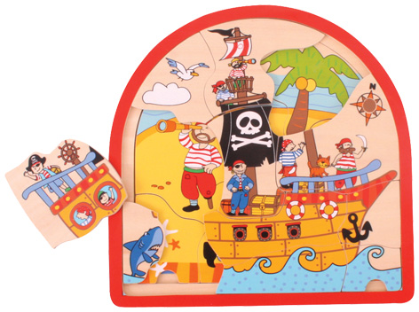 Pirate Multi Layer Puzzle