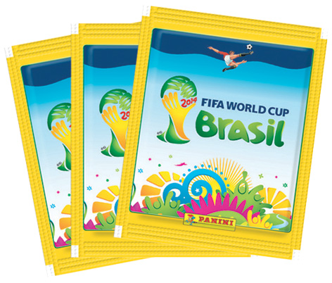 FA World Cup 2014 Stickers