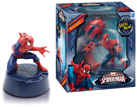 Spiderman Chase Rhino