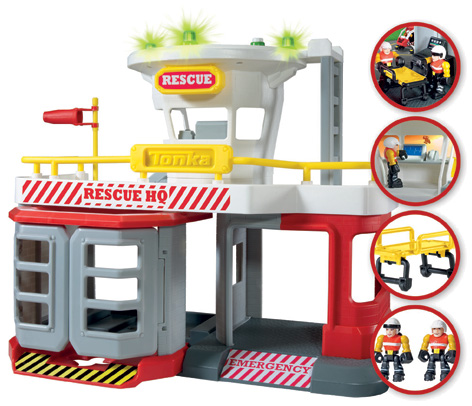 Tonka Town Air Rescue Playset