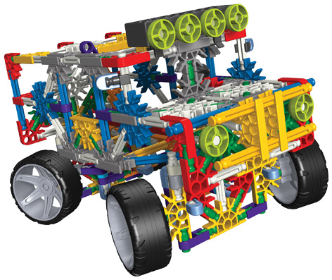 4 Wheel Drive Building Set