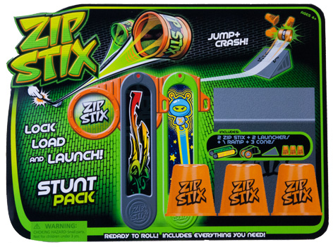 Zip Stix Stunt Pack