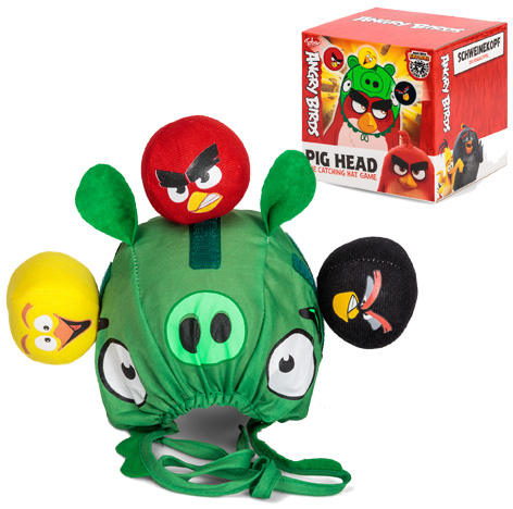 Angry Birds Pig Head Game