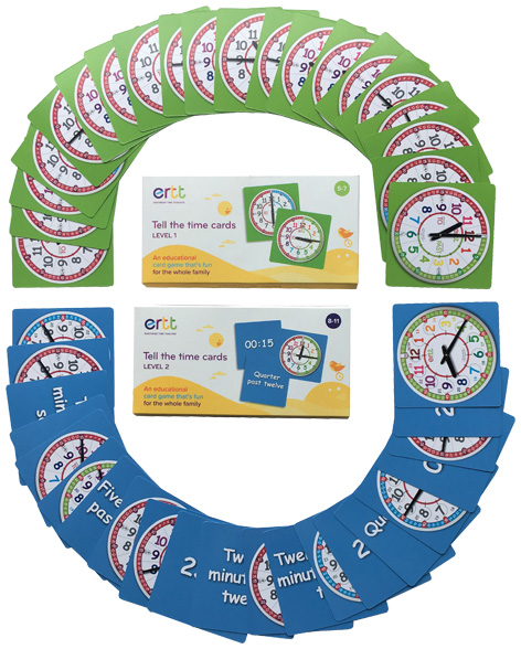 Tell The Time Cards Levels 1 & 2