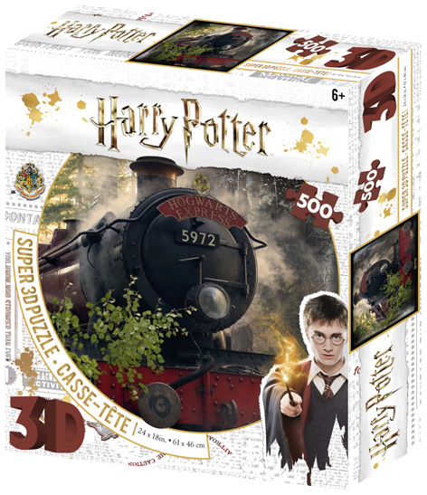 Harry Potter Hogwarts Express 3D Jigsaw