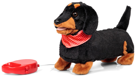 Animigos Scampering Sausage Dog