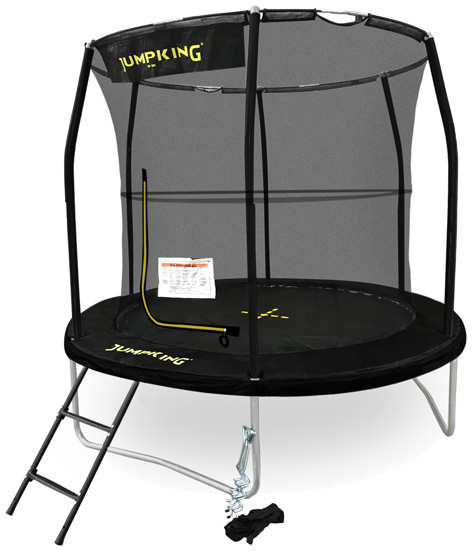 10ft Jumpking Combo Deluxe Trampoline