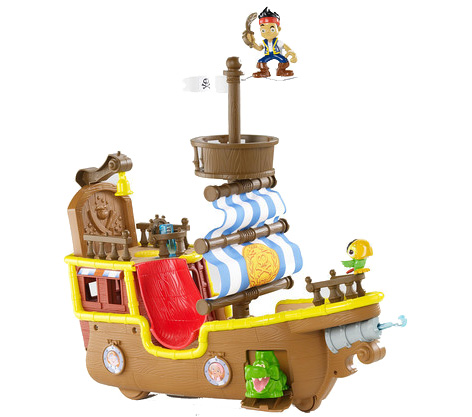 Bucky - Jakes Pirate Ship