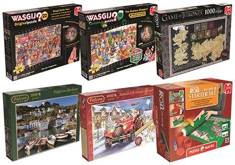 A selection of Jumbo's adult games.