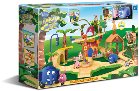 Packaging for the Jungle Junction Playset