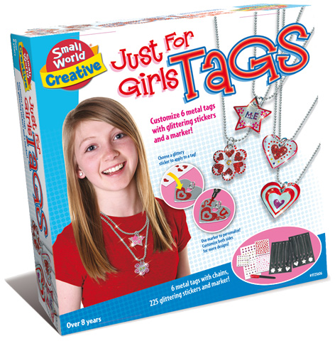 Just For Girls Tags