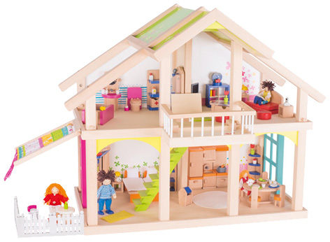 Wooden dolls house from K-Play