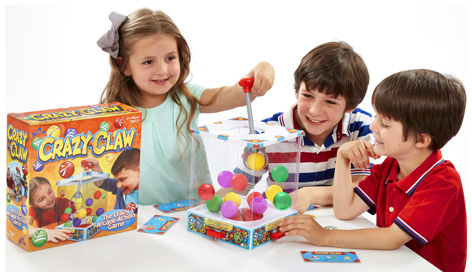Kids playing Crazy Claw