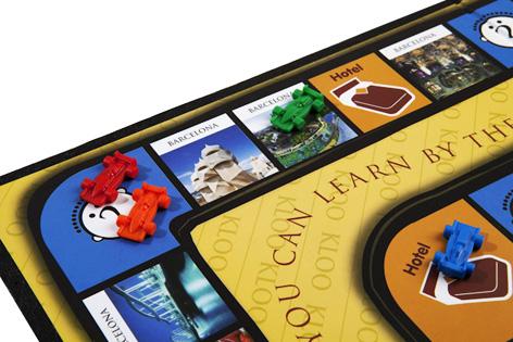 A Kloo Language Board Game