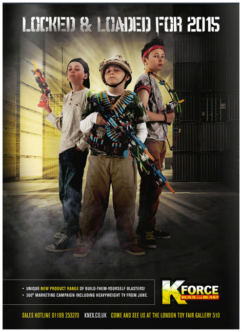 K-Force Blaster trade show advert