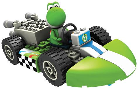 K'Nex Yoshi Standard Kart