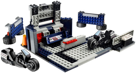 A Kre-O Transformers Optimus Prime Battle Station Toy
