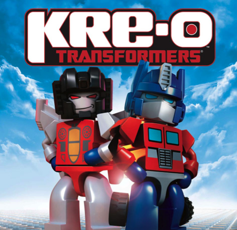 A Kre-O Transformers Promotional Advert