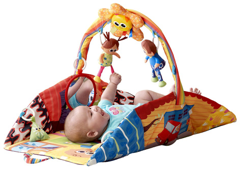 Lamaze Pyramid Playhouse Gym