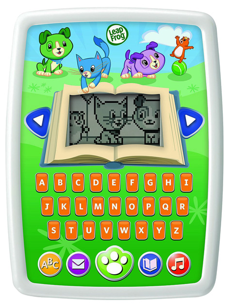 The My Own Story Time Pad from Leapfrog