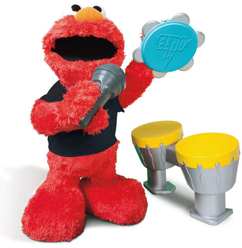 The All New Let's Rock ELmo Toy
