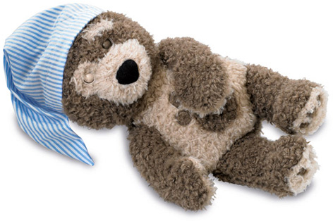 Goodnight Charley Bear toy