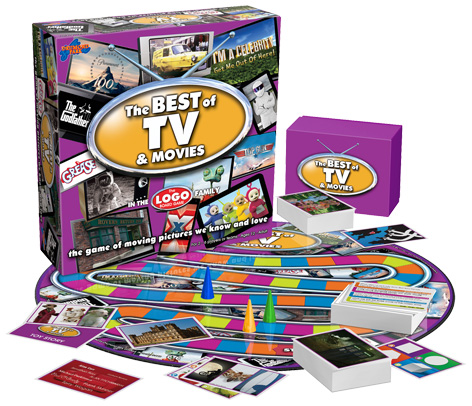 LOGO: Best of TV and Movies board game