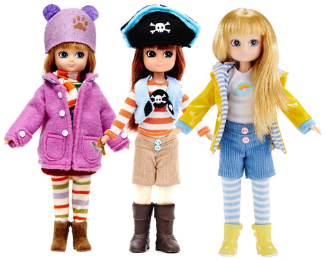 Lottie Dolls: Autumn Leaves, Pirate Queen and Muddy Puddles